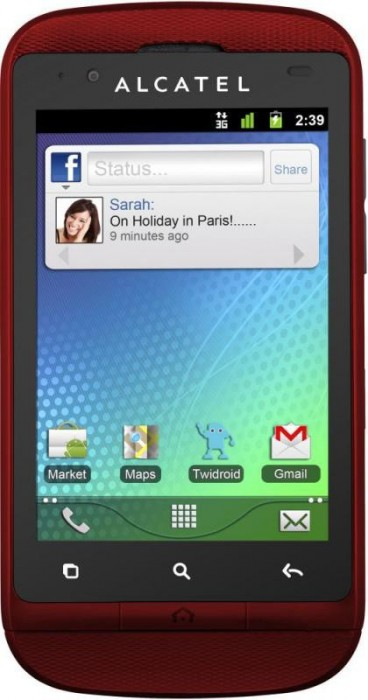 Alcatel one touch pixi 4007d 7